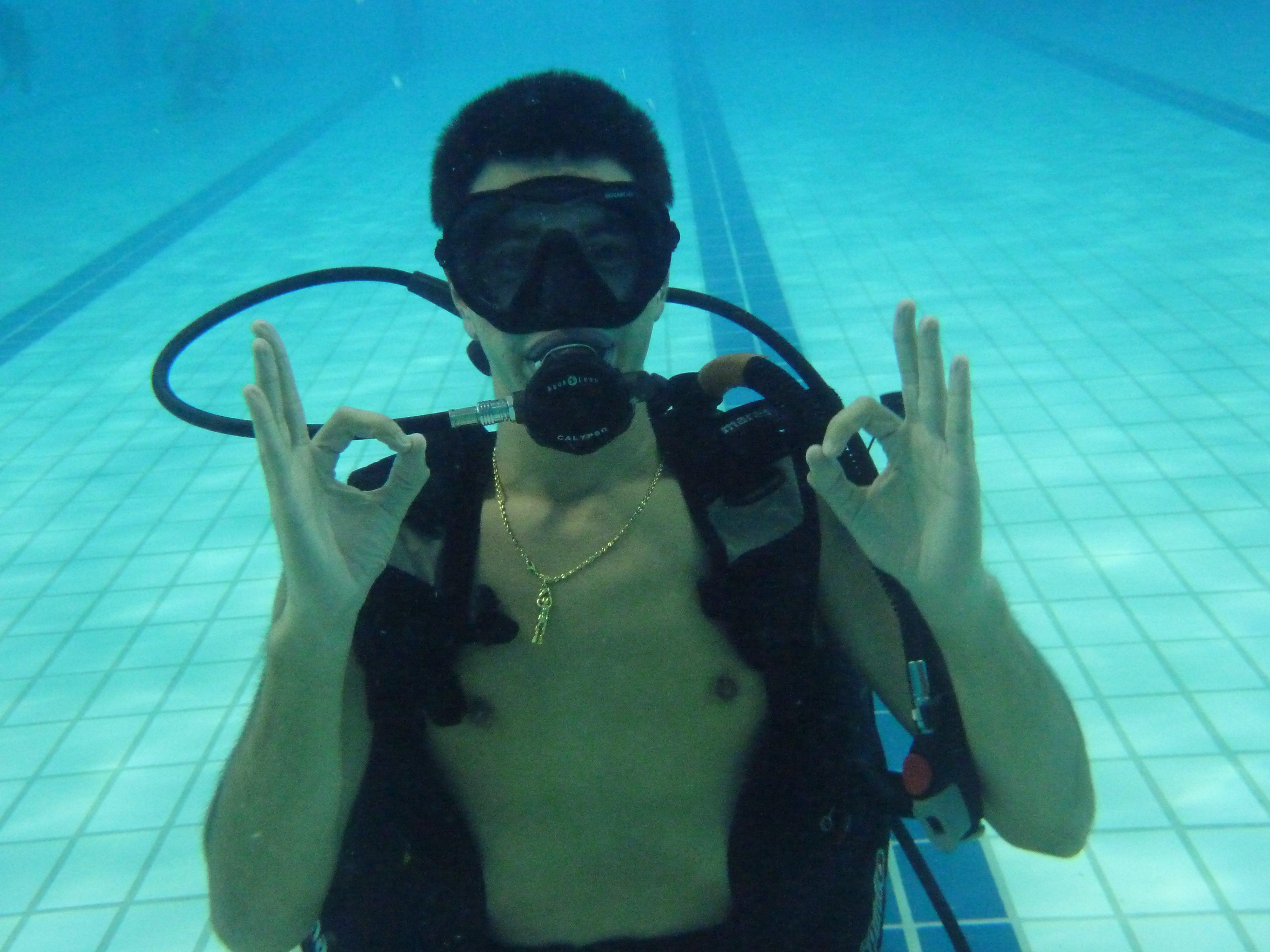 Underwaterblogtrotters premier plongeon for Piscine de beaublanc